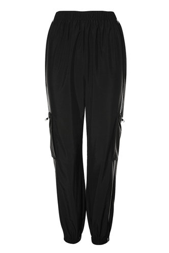 back_All Star Black Cargo Joggers