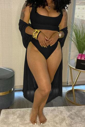 front_Dora Pepian Black Bikini