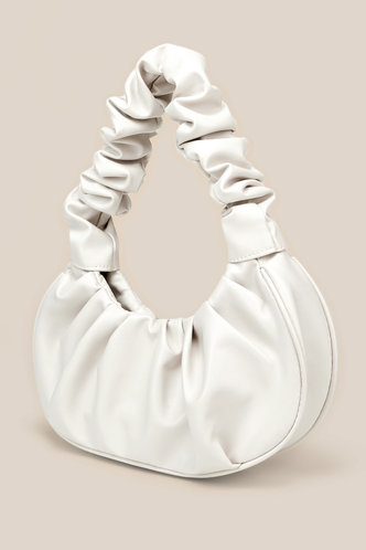back_Chloe Edith White Shoulder Bag