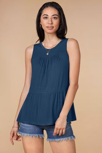 front_Ripple {Color} Tank Top