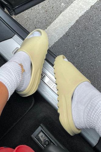 front_Cynthia Eunice Beige Slide & Flip Flop