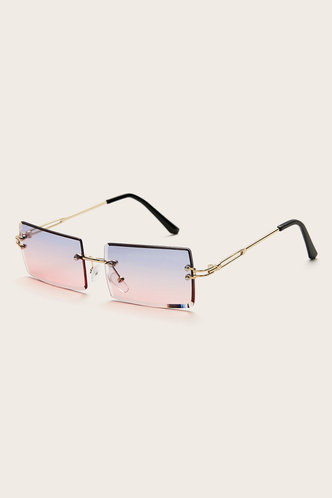 back_Summer Eleanore Purple And Pink Metal Frame Tinted Lens Sunglasses