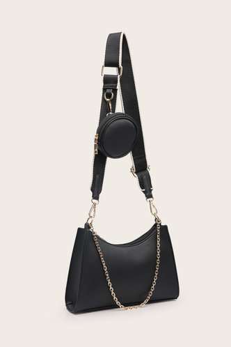 back_Joa Elma Black Crossbody Bag