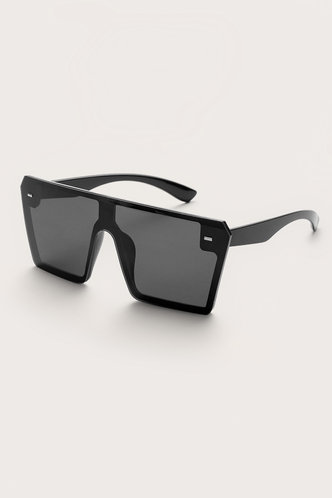 front_Square Grey Glasses & Eyewear accessories