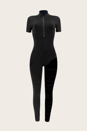 back_Buena Eve Black Jumpsuit