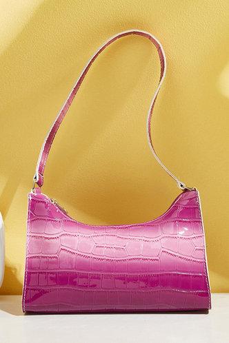 front_Eve Gust Purple Shoulder Bag