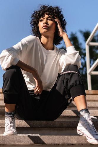 back_New Attitude White Pullover