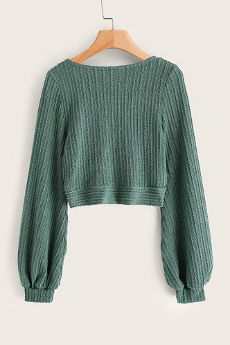 back_Greer Green Sweater