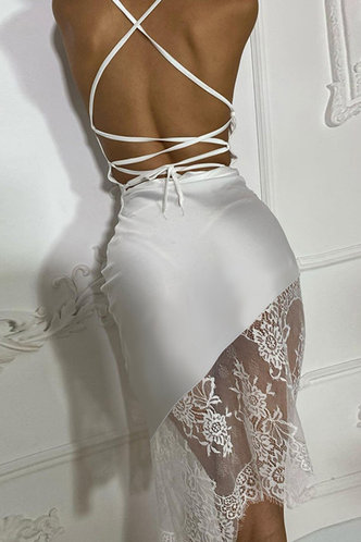 back_Cynthia Eartha White Lace Hem Cami Dress