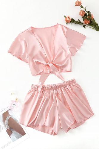 back_Joa Edwina Baby Pink Sleepwear
