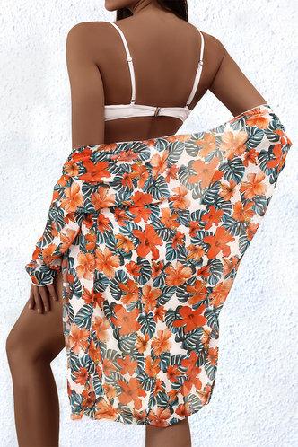 back_Lacey Eden Tropical Print Bikini Set