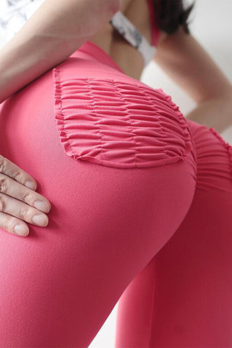 back_Ann Eileen Pink Pocket Leggings