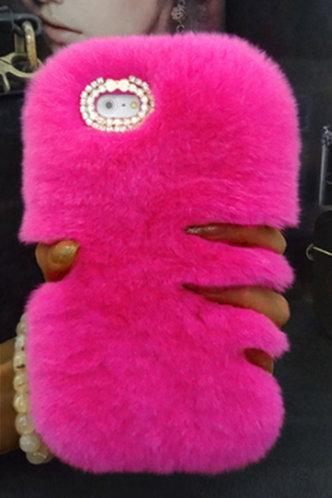 back_Selma Eunice Rose Pink Phone Case
