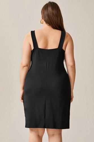 back_Xaviera Eileen Black Plus Dress