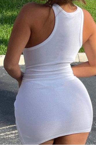 back_Beverly Horbek White Plus Bodycon Dress