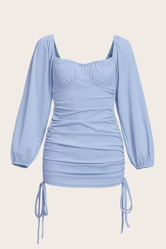 back_Abigail Elvira Baby Blue Plus Bodycon Dress