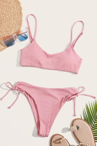 back_Anne Eden Pink Bikini