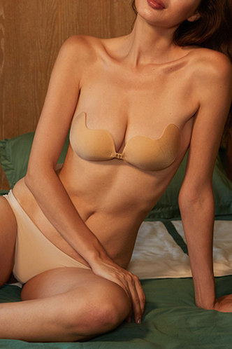 front_Monica Eartha Apricot Nipple Cover 1pack