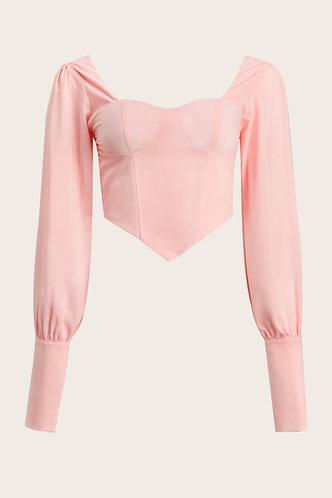 front_Bangladesch Baby Pink Blouse
