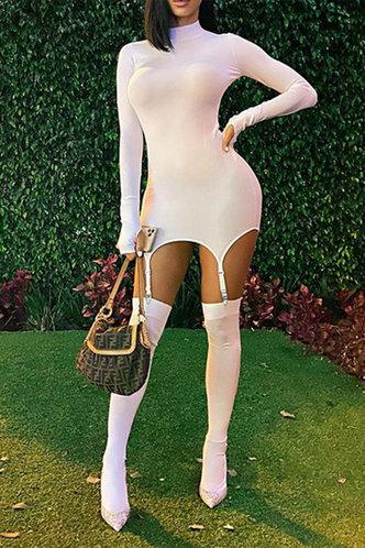 front_Magdalen Elaine White Dress