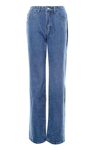 front_Check It Out {Color} Baggy Jeans
