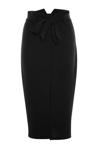 front_Big City Black Skirt