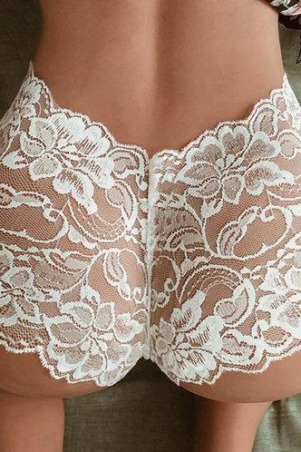 back_Eveline Edwina White Panty