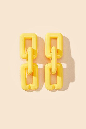 back_Megan Elma Yellow Chain Drop Earrings