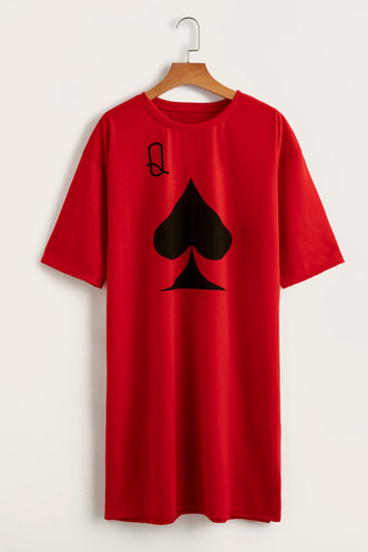 back_Chanel Elizabeth Red Plus T-Dress