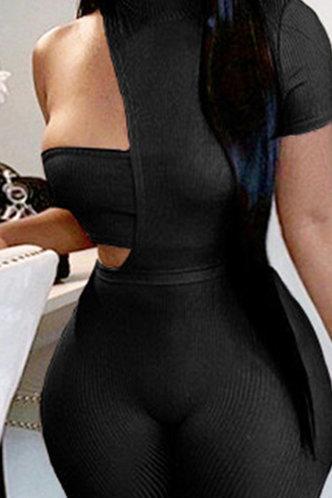 back_Michaela Elma Black Jumpsuit