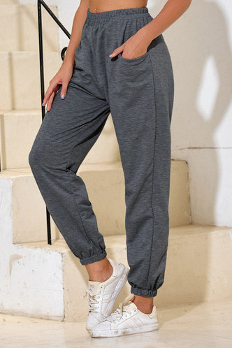 front_Malak Dark Grey Sweatpants