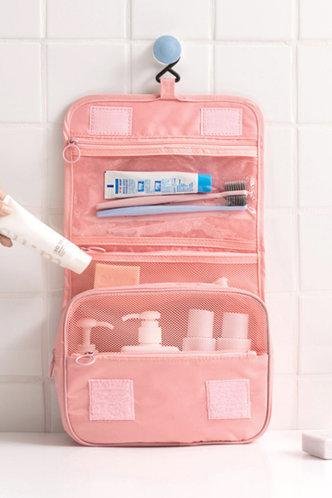 front_Gustave Jarum Pink Travel Storage Bag 1pc