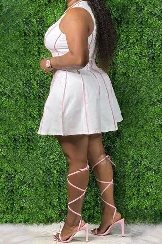 back_Dawn Kanjas White Plus Dress
