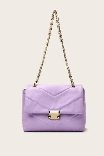 front_Ethel Elizabeth Lilac Shoulder Bag