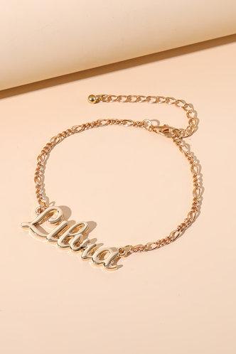 back_Frances Nomum Gold Constellation Letter Charm Bracelet