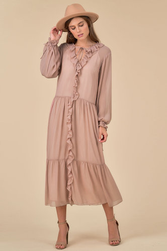 front_Feel the Flow Dusty Rose Maxi Dress