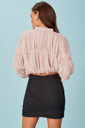 back_Poetic Justice Dusty Rose Long Sleeve Top