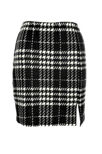 front_Checked Out {color} Skirt