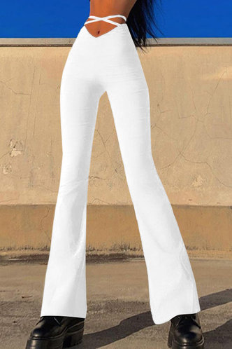 back_Margie Ella White Flare Pants