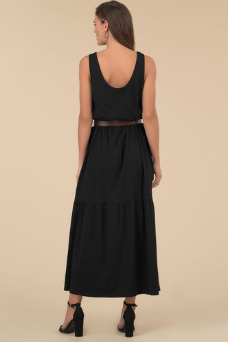 back_Palm Reader {color} Maxi Dress