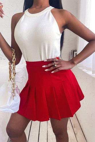 back_Esmeralda Elizabeth Red Skirt