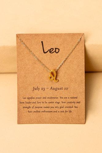 front_Frances Loghej Gold Constellation Letter Charm Necklace