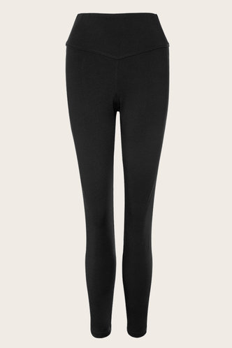 front_Getting It Black High Rise Leggings