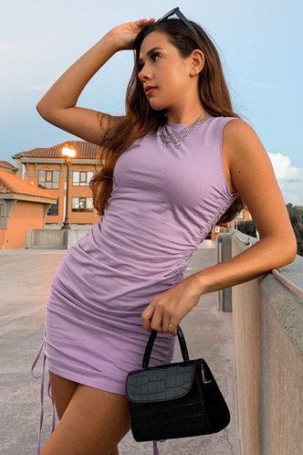 front_All Night Purple Mini Dress