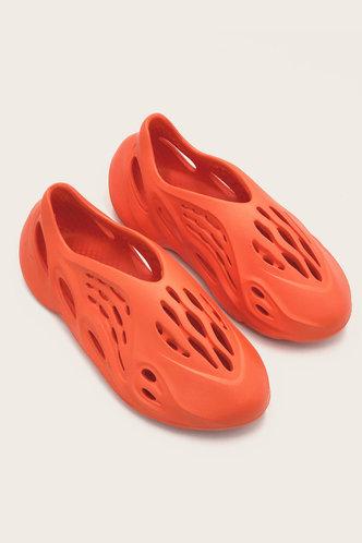 back_Isabel Evangeline Orange Sandal