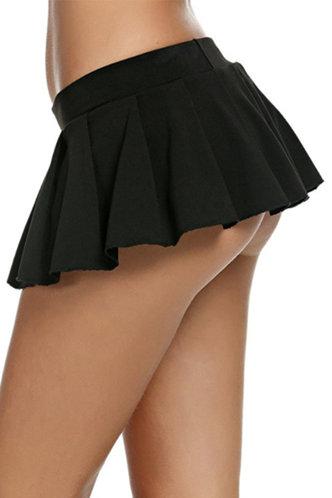 front_Ingeborg Eartha Black Skirt