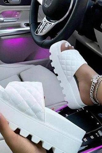 back_Modesty Eunice White Platform Shoes
