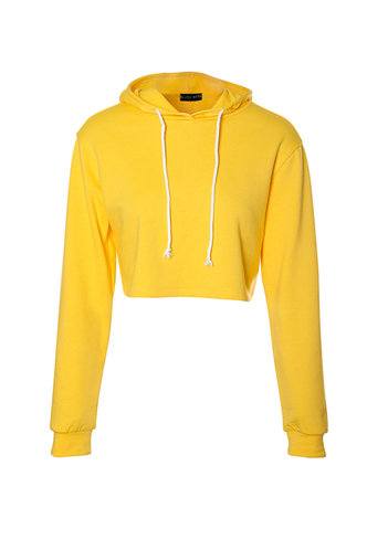 back_Midnight Sun Yellow Hoodie