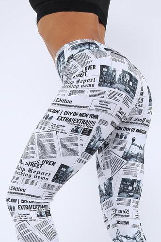 back_Diamond Eden Graphic Print Leggings