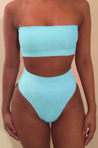 front_Kelly Elaine Teal Blue Bikini